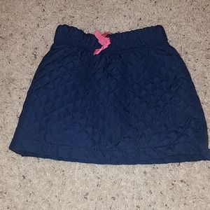 Toddler Quilted skirt